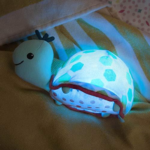 B. Toys - Stoffspielzeug New Glow Zzz Schildkröte Kuscheltier mit Melodien und Nachtlicht - 44836