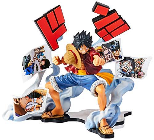 Action Figure Onepiece - Story Age - Monkey D. Luffy Bandai Banpresto Multicor