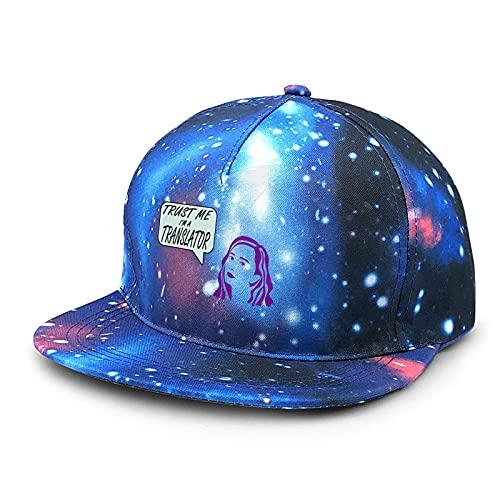 The Translator with Purple Hair Baseball Cap for Womens & Men's Adjustable Trendy Classic Baseball Cap