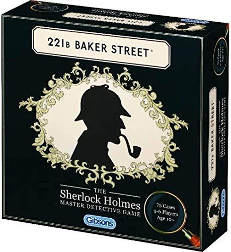 Gibsons 221B Baker Street: The Sherlock Holmes Master Detective Game
