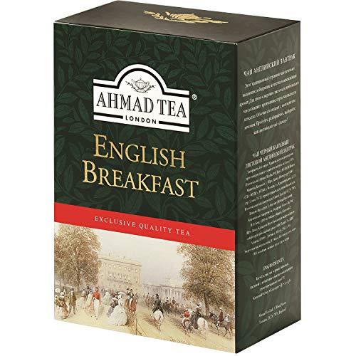 Ahmad Tea Schwarzer Tee English Breakfast lose 250g Schwarztee London pure Tea