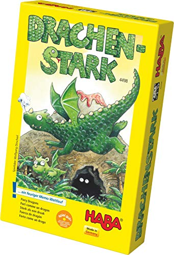 HABA 4498 - Drachenstark, Gedächtnisspiel