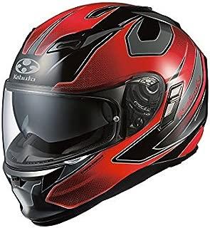 オージーケーカブト(OGK KABUTO)バイクヘルメット フルフェイス KAMUI2 STINGER (スティンガー) ブラックレッド (サイズ:M)