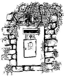 Joanna Sheen Stamps stempel JS brievenbus