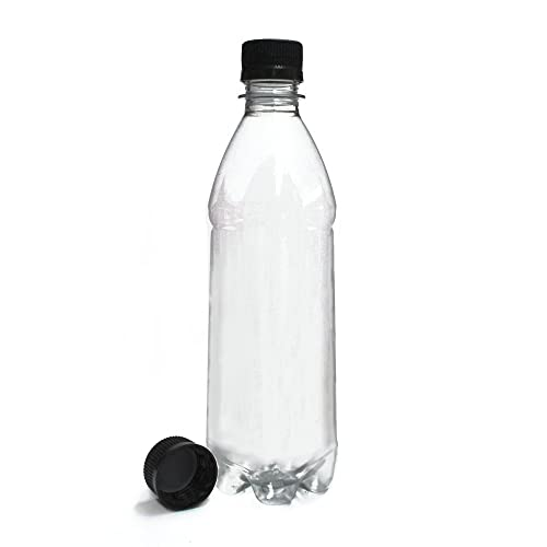 c0783f9518 Home Brew Online Screw Top Drink Bottles – Clear PET Plastic 500ml - 40 Pack