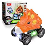 Childking Juguete de Coche para Niño de 3 4 5 6 Años,Monster Truck Baby Gift Animal Car con Luces LED Brillante Coche de Neumáticos LED para Niños Niño Pequeño Regalo de San Valentín