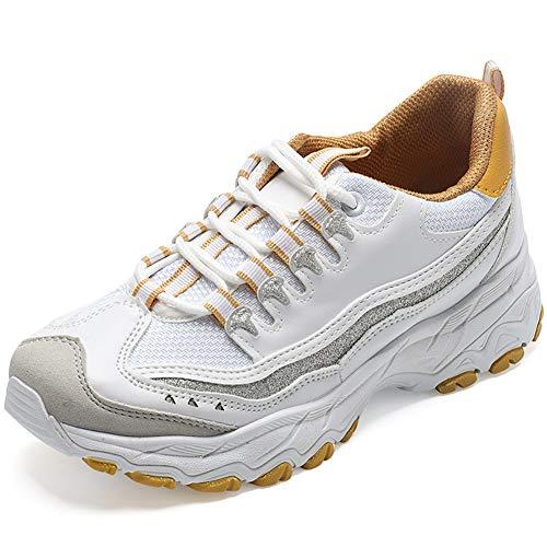 Vrouw Sneakers Dames Sportschoenen Dikke Zool Ademende Sneakers Lichtgewicht Joggen Fitness Atletische Casual Schoen