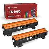 Toner Kingdom Cartuchos de Tóner TN1050 Compatibile para Brother TN-1050 Reemplazo DCP-1610W DCP-1612W HL-1110 HL-1210W HL-1112 HL-1212W DCP-1510 DCP-1512 MFC-1810 MFC-1910W (2 Negro)