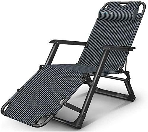 KMILE Zero Gravity - Silla reclinable, plegable, silla reclinable, plegable, para salón, oficina, siesta, multifunción, respaldo ajustable, portátil, 178 x 67 x 25 cm