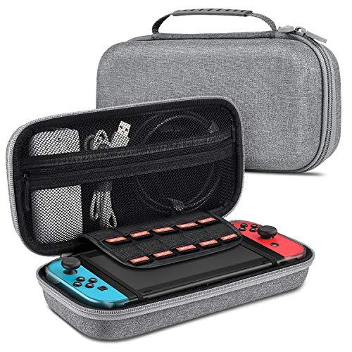 BEBONCOOL Aufbewahrungstasche für Nintendo 3DS 2DS Switch Game-Patronen