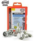 PEUGEOT 508 2011 + rueda tuercas de bloqueo M12x1,25 TORNILLOS PROTECCIÓN ANTI-ROBO
