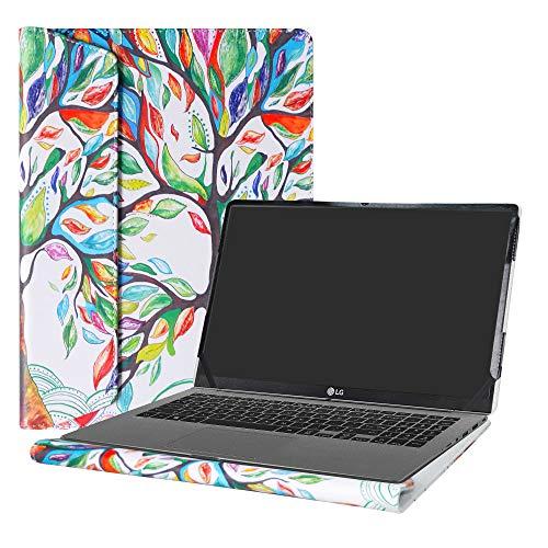Alapmk Protective Case Cover for 15.6' LG Gram 15 15Z970 15Z980 15Z990 Series Laptop(Warning:Not Fit LG Gram 15 15Z960/15Z950),Love Tree
