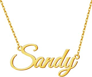 layered name necklace