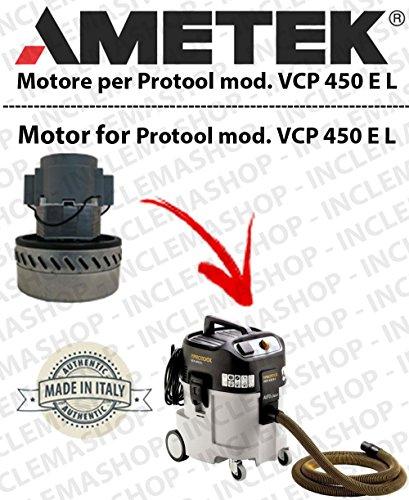 VCP 450 E L Ametek Stofzuiger en zuiger Protool