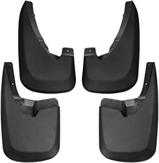Tecoom Mud Flaps Splash Guards Front and Rear 4 Pack for 09-18 Ram 1500 10-18 Ram 2500 3500 Without OEM Fender Flares ABS Molded