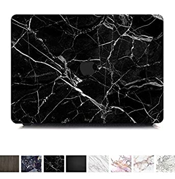 Koru Premium Black Marble Vinyl Decal Skin Sticker Case Cover for MacBook Pro 15 inch with Touch Bar  2016 & 2017 Release - Model A1707