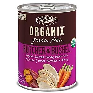 Castor & Pollux Organic Grain Free Canned Wet Dog Food Organix Butcher & Bushel (12) 12.7 oz Cans