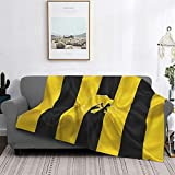 Iowa Hawkeyes University Blanket,Ultra Soft Micro All Season Anti-Pilling Flannel Blanket Bed Couch Living Room 60'X50'