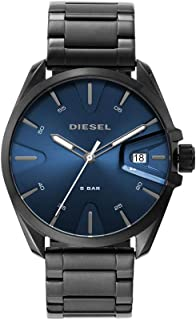Diesel MS9 Three-Hand Stainless Steel Watch DZ1908