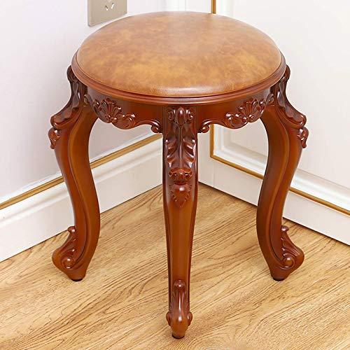 YZJJ Vanity taboret krzesło, wyściełane siedzisko do makijażu, wygodna ławka do fortepianu, łatwy montaż, nowoczesne krzesło, taboret wanity bez pleców, do pokoju lub sypialni