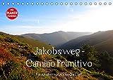 Jakobsweg - Camino Primitivo (Tischkalender 2022 DIN A5 quer): Pilgerweg von Oviedo nach Santiago de Compostela (Geburtstagskalender, 14 Seiten )