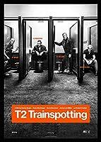 トレインスポッティング 【 T Trainspotting 】、アート映画のポスターフレーム、装飾が施された部屋、最高の贈り物のサイズ12 x 10inch