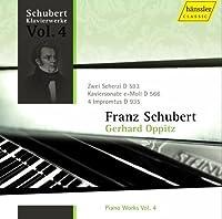 Schubert: Piano Works, Vol. 4: Two Scherzi D. 593 / Piano Sonata in E minor D. 566 / Vier Improptus D. 935 (2010-04-27)