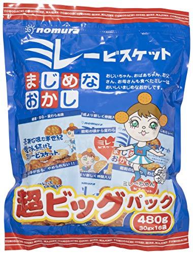 野村煎豆加工店 ミレー超ビッグパック 480g