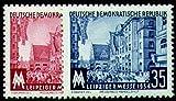 Goldhahn DDR Nr. 433-434 postfrisch ** Leipziger Messe 1954 Briefmarken für Sammler