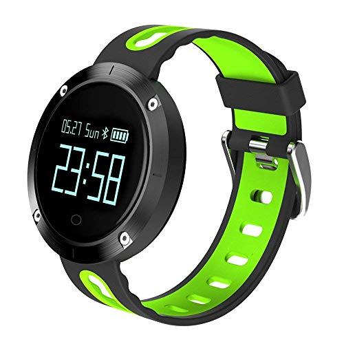 Luxsure, kabelloser Fitness-Tracker, wasserdicht, Bluetooth Tracker-Armband, um Herzfrequenz und Schrittzähler für iPhone XS Max/XS/XR/X/8/8Plus 7 7 Plus 6, Samsung S9 S8 und andere iOS und Android