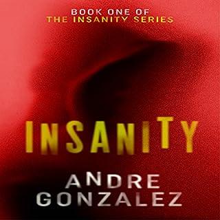 Insanity audiobook cover art