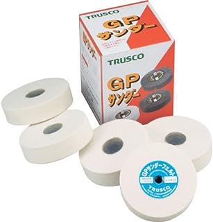 TRUSCO(トラスコ) GPサンダーフェルト ねじ込み式 Φ100 5個入 ソフト GPSF10025S