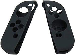 Case Silicone Nintendo Switch Proteção Para Controle Joy-con - Preto.