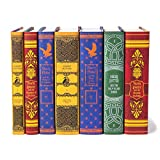 Juniper Books Harry Potter Boxed Set: House Mashup Edition   7-Volume Hardcover Book Set with Custom Designed Dust Jackets published by Scholastic   J.K. Rowling   Includes All 7 Harry Potter Books