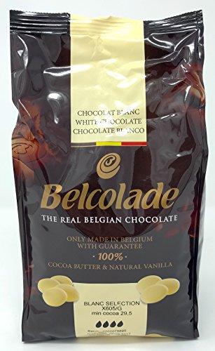 Belcolade Chocolat blanc - 1 kg