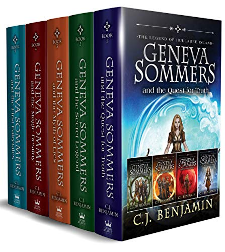 Geneva Sommers Box Set: A Magical Middle Grade Fantasy Adventure Series (English Edition)