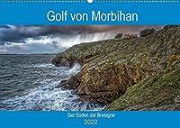 Golf von Morbihan, der Sueden der Bretagne (Wandkalender 2022 DIN A2 quer): Entdecken Sie das Département Morbihan, Landschaften zwischen Land und Meer (Monatskalender, 14 Seiten )
