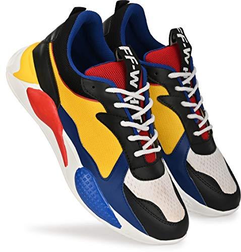 T-Rock Men's Orange Road Running Shoes - 7 UK