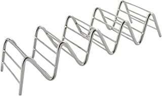 SGerste Taco Holder Stainless Steel - Taco Rack/Shells/Tray Serving Tray 4~5 Slots