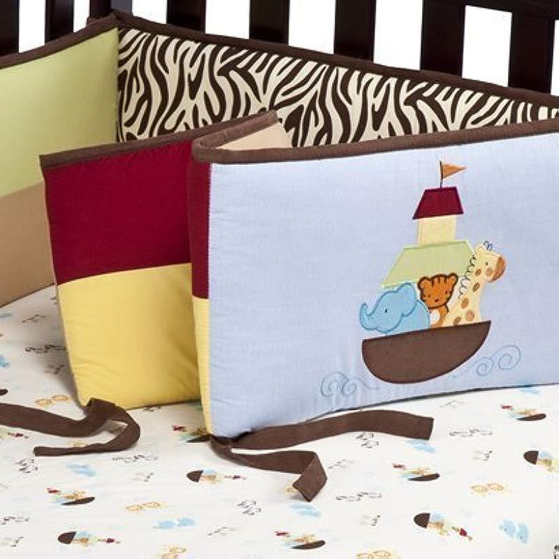 Tiddliwinks Noah S Ark All Around Crib Bumper