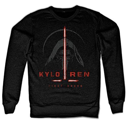 Kylo Ren First Order Sweatshirt (Noir), Large