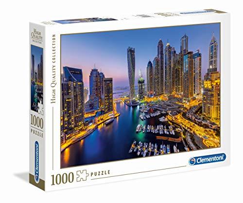 Clementoni- Dubai Los Pingüinos De Madagascar Puzzle, 1000 Piezas, Multicolor (39381)