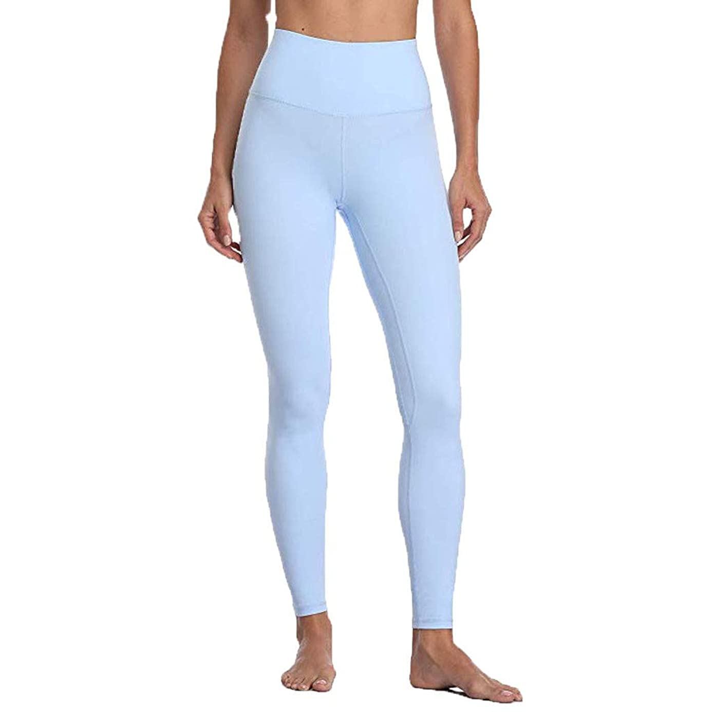 hositor Workout Leggings for Women, Ladies High Waist and Tight Fitness Yoga Pants Nude Hidden Pocket Yoga Pants