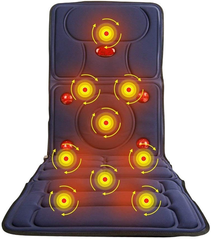 ENCOUNTER-G Massagekissen beheizte Matratze Ganzkrpermassage-Matratze elektrische Massagedecke für Zuhause Faltbare Infrarot-Massagekissen, 8 Massagemodi 165  60cm