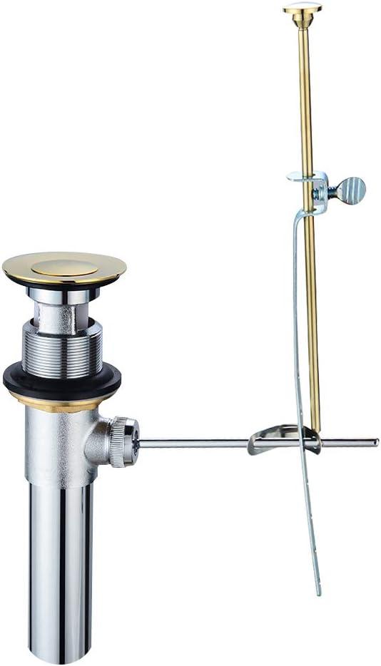 Tonnyund Bathroom 在庫処分 Vessel Sink 超激安特価 Vanity Drain Assembl Metal Stopper