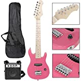 Smartxchoices 30' Inch Kids Electric Guitar with 5W Amp Cable Cord Pick Shoulder Strap Much More Guitar Combo Accessory Kit for Beginner...
