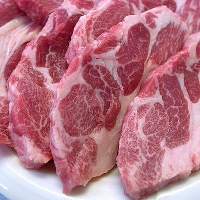 生ラム 肩ロース ジンギスカン 焼肉用 300g 自家製タレ付属 約1cm超厚切り