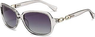 Dollger Retro Square Polarized Sunglasses for Women Driving Outdoor Sports Sunglasses 100% UV Protection