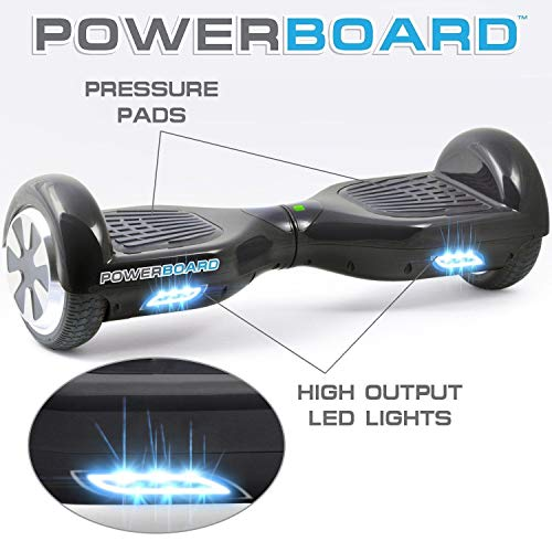 Hoverboard Powerboard SOGO Safe Smart Scooter Two Wheel Self Balancing Mover Slide Electric Scooter...