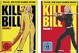 Kill Bill 1 + 2 DVD Set in deutsch, Volume I und II von Quentin Tarantino, mit Uma Thurman & David Carradine